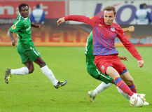 EUROPA LEAGUE: STEAUA BUCHAREST-MACCABI HAIFA Stock Photos