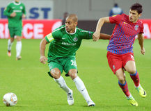 EUROPA LEAGUE: STEAUA BUCHAREST-MACCABI HAIFA Stock Image
