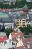 EUROPA LETTLAND RIGA arkivbild