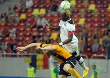 EUROPA liga: ASTRA GIURGIU-AS TRENCIN Zdjęcie Stock