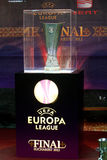 Europa Liga Definitief Boekarest royalty-vrije stock foto's