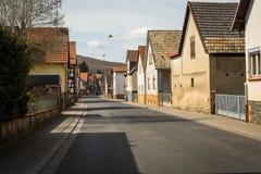 Europa liten stad Fotografering för Bildbyråer