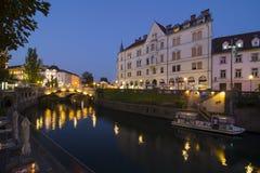 Europa ljubljana slovenia Royaltyfri Bild