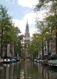 Europa, los Países Bajos, Amsterdam Foto de archivo