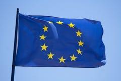 Europa-Markierungsfahne Stockfoto