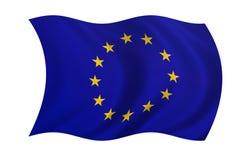 Europa-Markierungsfahne Lizenzfreie Stockbilder