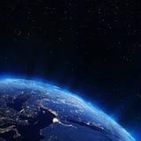Europa miasta światła Zdjęcia Royalty Free