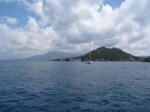 europa Mittelmeerregion ADRIATISCHES MEER kroatien dalmatia Segeln unter den Inseln Navigationsjahreszeit 2015 stockfoto