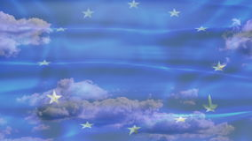 Europa nieba flaga