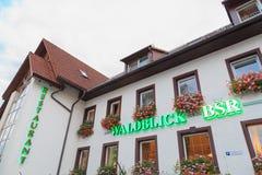 Europa, Niemcy - Hotelowy wrzesień 28, 2015 Obrazy Royalty Free