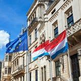 Europa och Luxembourg Arkivfoto