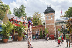 Europa Park in Rust, Germany Stock Photos