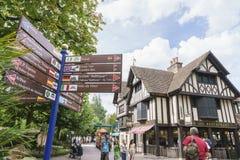 Europa parkerar i rost, Tyskland Royaltyfria Foton
