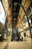 Europa Passage - escalator in shopping center Royalty Free Stock Images