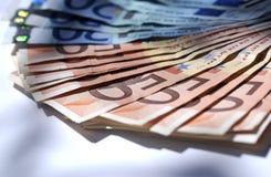 Europa pengar arkivfoto