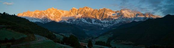 Europa picos de Obrazy Royalty Free