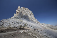 Europa picos de Fotografia Stock