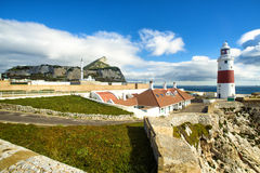 Europa Point in Gribraltar Stock Photography