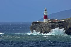 Europa point Lighthouse Royalty Free Stock Image