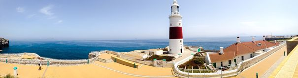 Europa Point lighthouse Royalty Free Stock Images