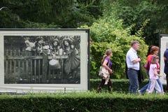EUROPA POLEN WARSHAU Stock Foto's