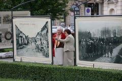 EUROPA POLEN WARSZAWA Arkivbild