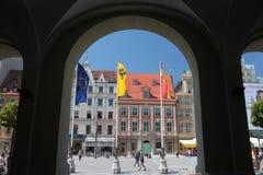 EUROPA POLEN WROCLAW Stock Foto