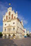 Europa, Polonia, Rzeszow, ciudad vieja, plaza del mercado, ayuntamiento Foto de archivo libre de regalías