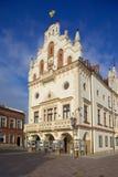 Europa, Polonia, Rzeszow, ciudad vieja, plaza del mercado, ayuntamiento Fotografía de archivo libre de regalías