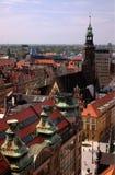 EUROPA POLONIA WROCLAW Foto de archivo libre de regalías