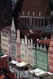 EUROPA POLONIA WROCLAW Fotos de archivo libres de regalías