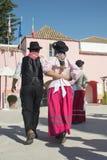 EUROPA PORTUGAL ALGARVE LOULE TRADITIONELL DANS Royaltyfria Foton