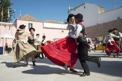 EUROPA PORTUGAL ALGARVE LOULE TRADITIONELL DANS Fotografering för Bildbyråer