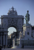 EUROPA PORTUGAL LISSABON PARA GÖR COMERCIO Royaltyfria Bilder