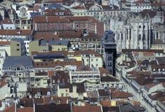 EUROPA PORTUGAL LISSABON TORRE DE BELEM Royaltyfri Fotografi