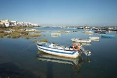 EUROPA PORTUGALIA ALGARVE CABANAS wybrzeże Zdjęcia Stock