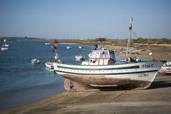 EUROPA PORTUGALIA ALGARVE CABANAS wybrzeże Fotografia Stock