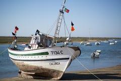 EUROPA PORTUGALIA ALGARVE CABANAS wybrzeże Obraz Stock