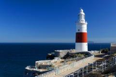 Europa punktu latarnia morska Zdjęcia Stock