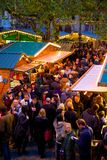 Europa, Regno Unito, Inghilterra, Lancashire, Manchester, Albert Square, mercato di Natale Immagini Stock