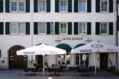 Europa Ruesselsheim d'hôtel Images stock