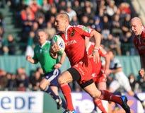 Europa-Rugby-Cup - Benetton gegen Munster Lizenzfreie Stockbilder