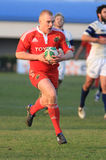 Europa-Rugby-Cup - Benetton gegen Munster Stockfotos