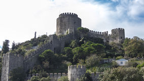 Europa´s castle on Bosporus Royalty Free Stock Photos