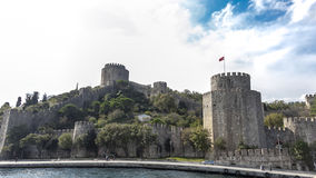 Europa´s castle on Bosporus Stock Images
