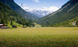 Europa-Schweizer Stockbild
