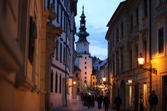 EUROPA SISTANI BRATISLAVA miasto Zdjęcia Royalty Free