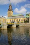 Europa Skandinavien, Sverige, Göteborg, Fattighusan kanal, Göteborg stadsmuseum, Svenska Kyrkan Royaltyfri Bild