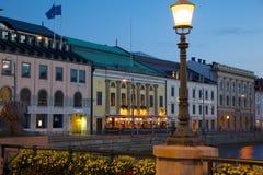 Europa Skandinavien, Sverige, Göteborg, restaurang på Sodra Hamng Royaltyfri Fotografi