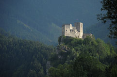 Europa, Slowakije, kasteel Strecno Royalty-vrije Stock Afbeeldingen
